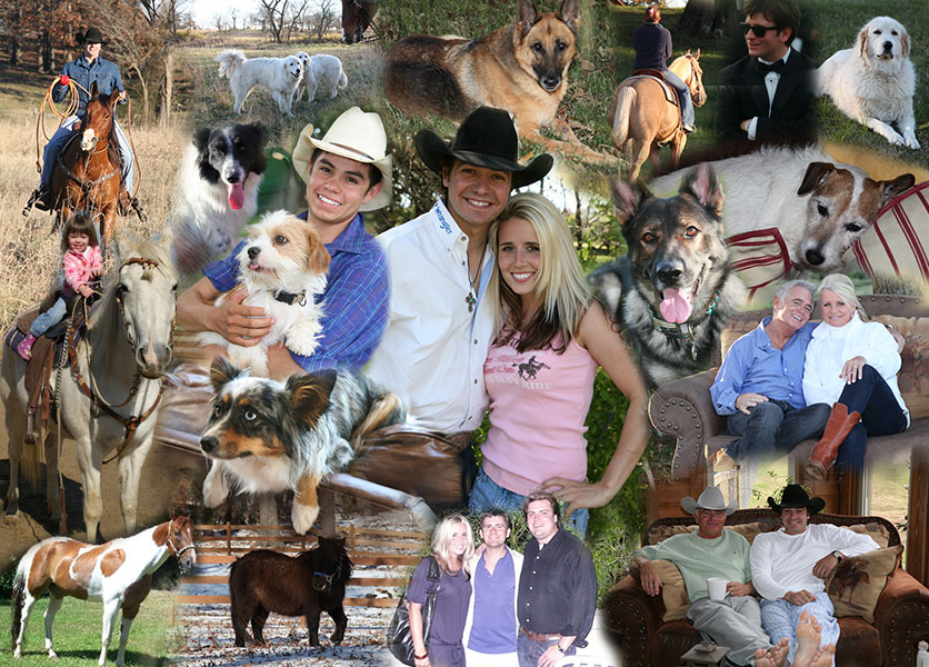 Meet the Ranch collage
